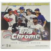 2020 Topps Chrome Update Baseball Mega Box
