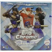 2020 Topps Chrome Update Sapphire Baseball Box