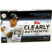 2020 Topps Clearly Authentic Baseball 20 Box Case