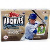 2020 Topps Archives Signature Series Baseball Box