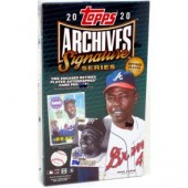 2020 Topps Archives Signature Series Retired Player Ed Baseball 20 Box Case