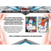 2020 Topps Finest Baseball Hobby 8 Box Case
