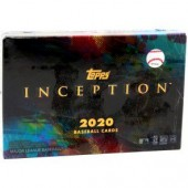 2020 Topps Inception Baseball Hobby 16 Box Case