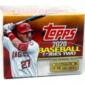 2020 Topps Series 2 Baseball Jumbo 6 Box Case