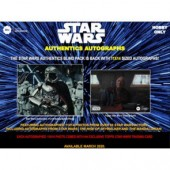 2020 Topps Star Wars Authentics Autographed Photo & Trading Card Box