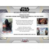 2020 Topps Star Wars Chrome Perspectives: Resistance Vs The First Order Box