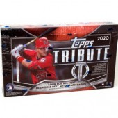 2020 Topps Tribute Baseball Hobby 6 Box Case