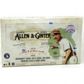 2020 Topps Allen & Ginter Baseball Hobby 12 Box Case