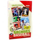 2020 Topps Archives Baseball Hobby 10 Box Case
