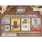 2020 Topps Archives Signature Series Retired Player Ed Baseball 20 Box Case