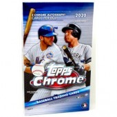 2020 Topps Chrome Baseball Hobby 12 Box Case