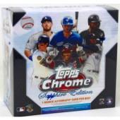 2020 Topps Chrome Sapphire Edition Baseball Box