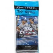 2020 Topps Chrome Baseball Value Rack Pack