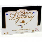 2020 Topps Dynasty Baseball Hobby 5 Box Case