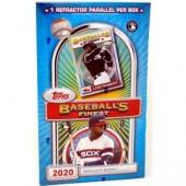 2020 Topps Finest Flashback Baseball Box