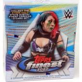2020 Topps WWE Finest Wrestling Hobby 8 Box Case