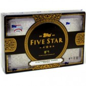 2020 Topps Five Star Baseball Hobby 8 Box Case