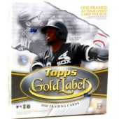 2020 Topps Gold Label Baseball Hobby 16 Box Case