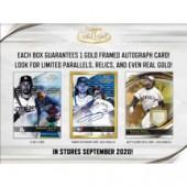 2020 Topps Gold Label Baseball Hobby 16 Box Case