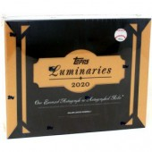 2020 Topps Luminaries Baseball Hobby 12 Box Case
