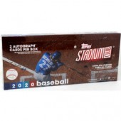 2020 Topps Stadium Club Baseball Hobby 16 Box Case