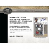 2020 Topps Sterling Baseball Hobby 8 Box Case
