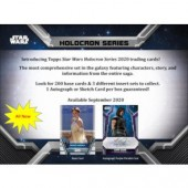2020 Topps Star Wars Holocron Series Hobby 12 Box Case