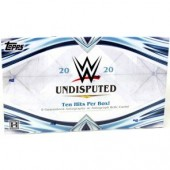 2020 Topps WWE Undisputed Wrestling Hobby 8 Box Case