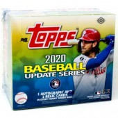 2020 Topps Update Series Baseball Jumbo 6 Box Case