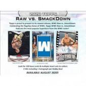 2020 Topps WWE RAW vs. Smackdown Hobby 8 Box Case