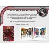 2020 Topps WWE Women's Division Hobby 8 Box Case