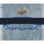 2021/22 Upper Deck Artifacts Hockey Hobby 10 Box Case