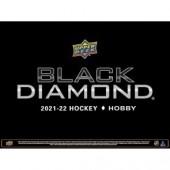 2021/22 Upper Deck Black Diamond Hockey Hobby 5 Box Case