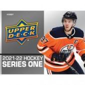 2021/22 Upper Deck Series 1 Hockey Hobby 12 Box Case