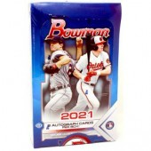 2021 Bowman Baseball Jumbo HTA 8 Box Case