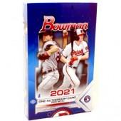 2021 Bowman Baseball Hobby 12 Box Case