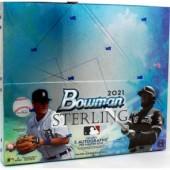 2021 Bowman Sterling Baseball Hobby 12 Box Case