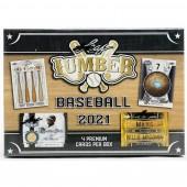 2021 Leaf Lumber Baseball Hobby 10 Box Case
