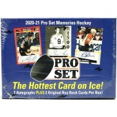 2020/21 Pro Set Memories Hockey 10 Box Case