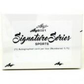2021 Leaf Signature Series Sports Edition Box