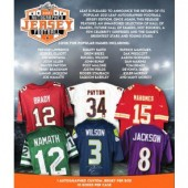 2021 Leaf Autographed Football Jersey Edition 10 Box Case