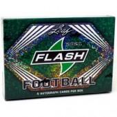 2021 Leaf Flash Football Hobby 12 Box Case