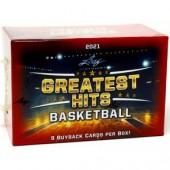 2021 Leaf Greatest Hits Basketball Box