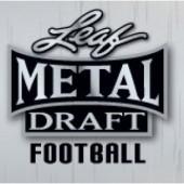 2021 Leaf Metal Draft Football Jumbo Box