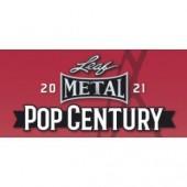 2021 Leaf Metal Pop Century 12 Box Case
