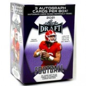 2021 Leaf Draft Football Premium Hobby Blaster Box