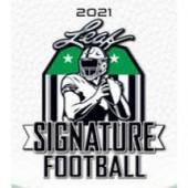 2021 Leaf Signature Football Blaster 20 Box Case