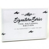 2021 Leaf Signature Series The National Edition Box