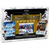 2021 Leaf Ultimate Sports Hobby 10 Box Case