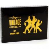 2021 Onyx Vintage Collection Baseball 24 Box Case